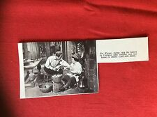 m2e ephemera 1950s film picture cutting abbott & costello meet captain kidd