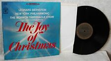JOY OF CHRISTMAS New York Philharmonic MORMON TABERNACLE CHOIR  33 LP Columbia