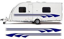 CAMPING-CAR/CARAVAN VINYLE KIT GRAPHIQUE STICKERS AUTOCOLLANTS BANDES #26XL