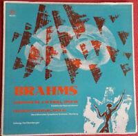 Brahms / Symphonie Nr. 4 E-Moll Opus 98 / Tragische Ouverture Opus 81 LP Vinyl