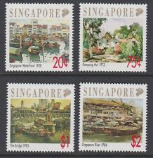 SINGAPORE 1992 Local Artists complete MINT set sg677-680 MNH