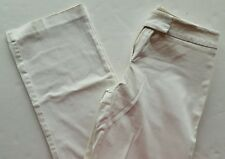 New York & Company Womens Size 6 Pants Jeans Off White