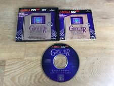 Grolier Electronic Encyclopedia for Amiga CD32 Rare Vintage Software
