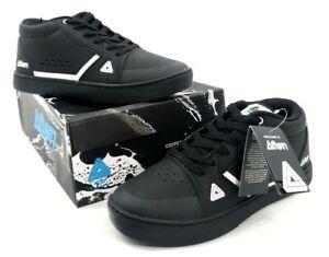 Afton Cooper Mountain Bike Flat Shoes Black/White 44 EU / 10 US