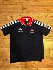 British Cycling, Team GB Athlete Issue Sky Adidas Polo-shirt. Large. New.