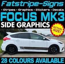 Ford Focus MK3 COCHE CALCOMANÍAS GRÁFICOS ADHESIVO bomba techo Vinilo 1.6 2.0 ZETEC ST RS