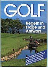 Verschiedene Autoren - Golf - Regeln in Frage und Antwort