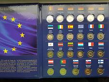 Full set 23 x 2 euro 2015 year 2 Euro commemorative coin 30 years of EU flag