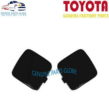 NEW GENUINE OEM TOYOTA 06-08 RAV4 LEFT & RIGHT FRONT BUMPER ARM HOLE COVER SET