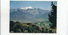 BF31338 col de la faucille panorama sur le mont blanc  france front/back image