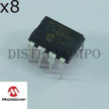 MCP602-I/P Amplificateur opérationnel double DIP-8 Microchip RoHS (lot de 8)