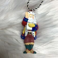 Mary Engelbreit Santa Claus Christmas Ornament Glasses Check List Me Ink 1996