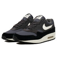 Nike Air Max 1 AH8145-012 Size 8 - 13  Men's brand new all black brown shoes