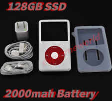 ✔️2000mah Big Battery SSD 128GB iPod Classic 7th Gen 120GB Silver (U2 Model)✔️