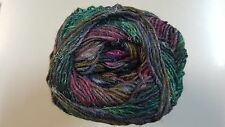 Noro Silk Garden Sock Yarn #S413 Burgundy Green Brown 100g