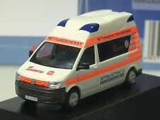RIETZE VW Ambulance Mobile Hornis Silver St.John Braunschweig - 53408 - 1/87
