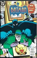 THE BATMAN ADVENTURES #10 VF THE RIDDLER PERFESSER MR.NICE MASTERMIND 1st 1993
