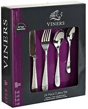 Viners Glamour 24 Piece Stainless Steel Cutlery Set In Presentation Box