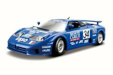 BUGATTI EB110 SUPER SPORT # 34 RACE 1994 1/24 SCALE DIECAST CAR BY BBURAGO 28010