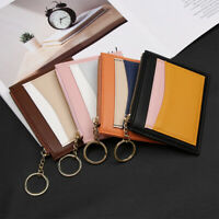 Gift Fashion Mini Coin Purse Credit Card Holder Bags ID Card Holders Key Wallet