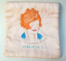 "1930's LITTLE ORPHAN ANNIE HANKIES ""keeper"".  scarce!"