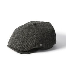 Failsworth Hudson Harris Tweed Button Top Bakerboy Cap