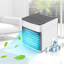 Mini Aire Acondicionado Portátil Ventilador Hielo Agua Humidificador Dormitorio