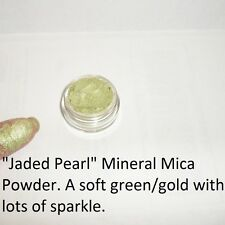 """Jaded Pearl"" 100% Pure Mineral Mica Eye Shadow Loose Powder ~ 3 gram pot"