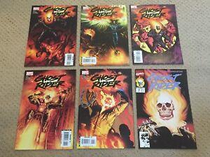 Ghost Rider Comic Lot (6 Comics)