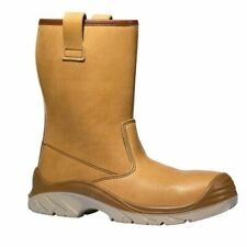 UPOWER ORIGINAL SIZE 8 RIGGER CAP WORK BOOTS SAME LEATHER AS JALLATTE JALASKA