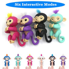 UGI Finger Baby Monkey Kids Smart Electronic Interactive Robot Pet Doll Toy Gift