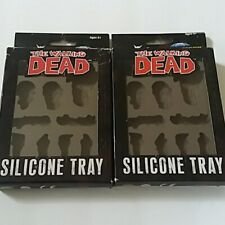 2 -  The Walking Dead Silicone Ice Cube Tray