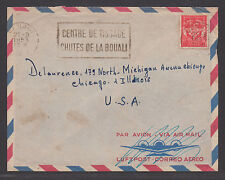 *France Cover #M11 to  Chicago, IL, Air Mail, 1953