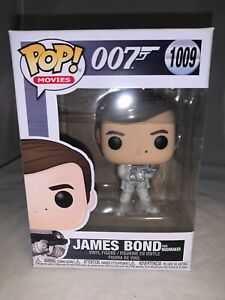Funko Pop Movies James Bond Roger Moore Moonraker Vinyl Figure-New