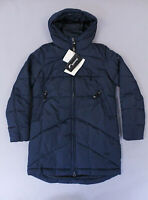 Finn Flare Women's Quilted Full-Zip Short Coat KB8 Blue Size XS NWT