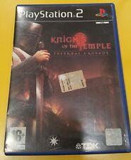 Knights of The Temple Infernal Crusade GIOCO PS2  Versione Italiana