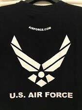 MENS US AIRFORCE PT TRAINING TOP T SHIRT 100% AUTHENTIC