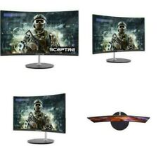Sceptre C248W1920RN 24 inch LED Monitor with Built-In Speakers
