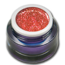 5ml Chrome Sparkle Glitter UV Gel Sunrise Pink Rosa Farbgel Colorgel #01541-13