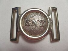 Civil War ~ Reproduction ~ State of New York ~ Two Piece Belt Plate ~ Tongue & W
