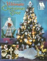 The Ultimate Christmas Tree Crochet Patterns Ornaments Skirt Angel Topper NEW