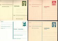 Deutsche Bundespost - Ganzsachen - Verschiedene Postkarten - Postfrisch