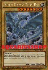 Yu-Gi-Oh Drago Bianco Occhi Blu MVP1-ITGV4 Segreta GOLD ITA Seto Kaiba Dragon