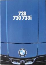 Prospekt BMW 7er E23 2/78