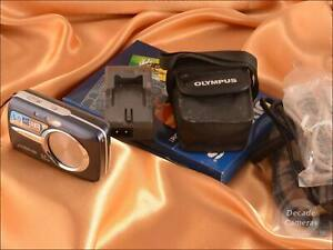 Olympus mU 600 6MP 3x Zoom Digital Camera inc Battery/Cables/Charger - 353