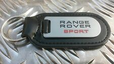 Range Rover Sport Premium Quality Etched & Infilled Leather Key Fob