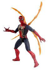 Action Figure Iron Spider-Man Look from Movie Marvel SuperHero, TOY-ISM