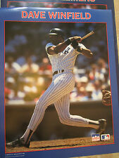 DAVE WINFIELD STARLINE POSTER - NEW YORK YANKEES - 1988 RARE MAJOR LEAG BASEBALL
