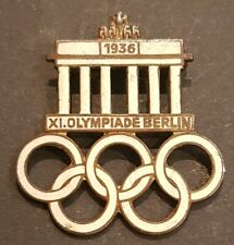 A Original 1936 XI Olympiade Berlin Pin Badge. Hermann Aurich