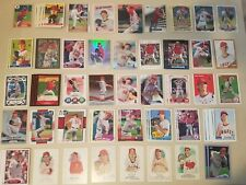 119 Jered Weaver Anaheim Angels Minis Inserts Chromes Finest Topps UD Panini +